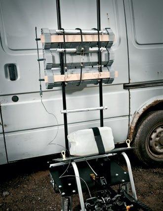 Modular Large Vehicle Disruptor Mlvd Eod Technology